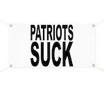 Patriots Suck Banner
