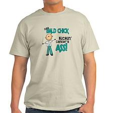 Bald 3 Teal (SFT) T-Shirt