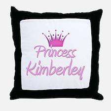 Princess Kimberley Throw Pillow