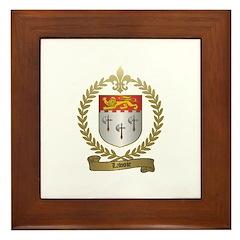 LAVOIE Family Framed Tile