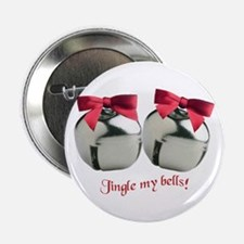 """Jingle my bells! 2.25"""" Button (10 pack)"""