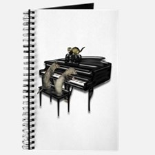 Piano with Three Ferrets Journal