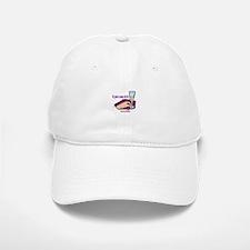 HALF FULL Baseball Baseball Cap