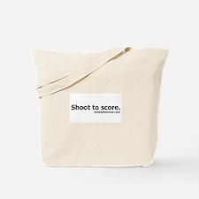Shoot to score. Tote Bag