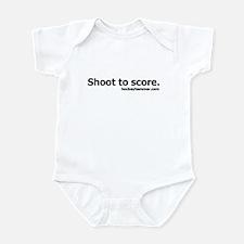 Shoot to score. Infant Bodysuit
