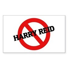 Anti Harry Reid Rectangle Decal