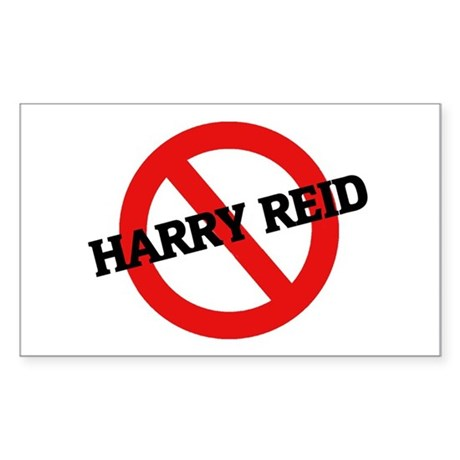 Anti Harry Reid Rectangle Sticker