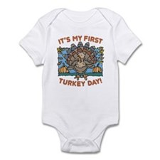 IT'S MY FIRST TURKEY DAY! Infant Bodysuit