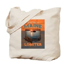 Maine Lobster Tote Bag