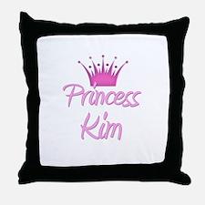 Princess Kim Throw Pillow