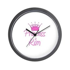 Princess Kim Wall Clock