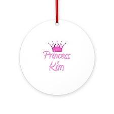 Princess Kim Ornament (Round)