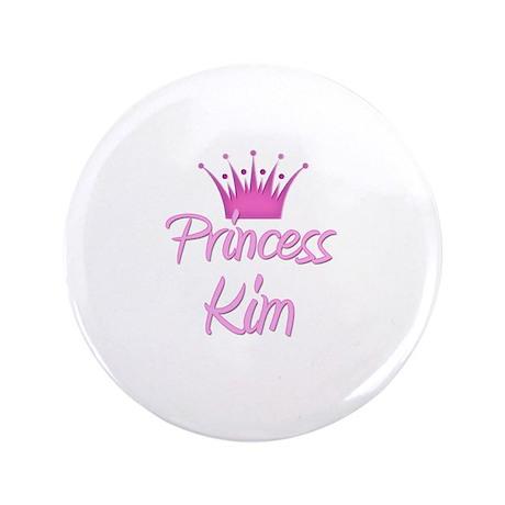 """Princess Kim 3.5"""" Button"""