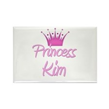 Princess Kim Rectangle Magnet