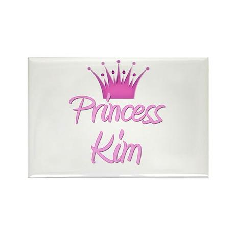 Princess Kim Rectangle Magnet