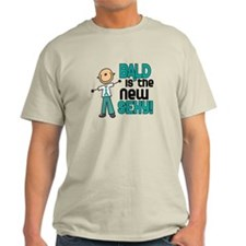 Bald 6 Teal (SFT) T-Shirt