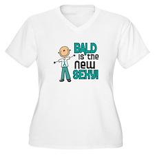 Bald 6 Teal (SFT) T-Shirt