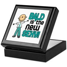 Bald 6 Teal (SFT) Keepsake Box