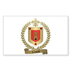 LEBLOND Family Rectangle Decal