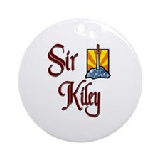 Sir Kiley Ornament (Round)