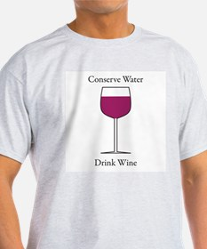 Conserve Water Drink a Wine T-Shirt
