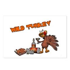 Wild Turkey Postcards (Package of 8)
