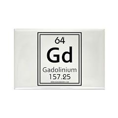 Gadolinium Rectangle Magnet (10 pack)
