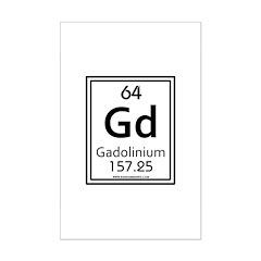 Gadolinium Posters