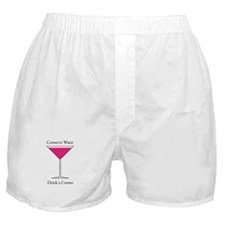 Conserve Water Drink a Cosmo Boxer Shorts