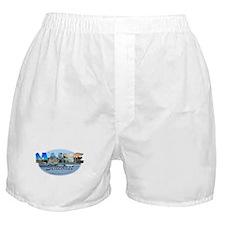 Maine Seacoast Boxer Shorts