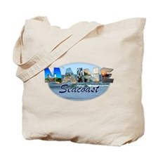 Maine Seacoast Tote Bag