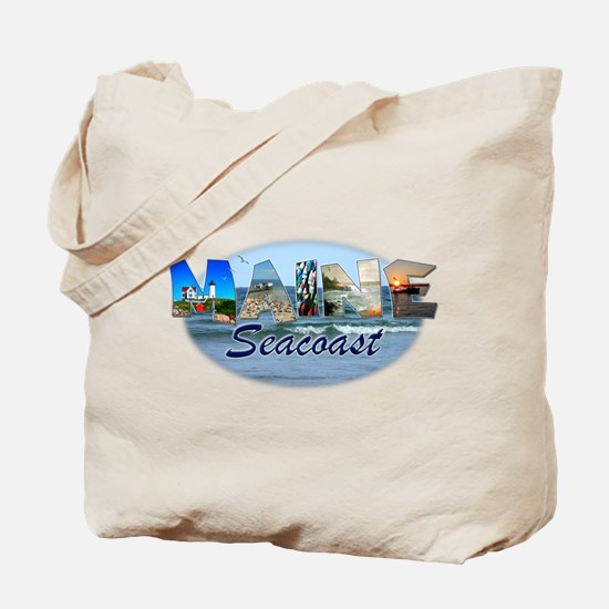 Maine Seacoast Tote Bag