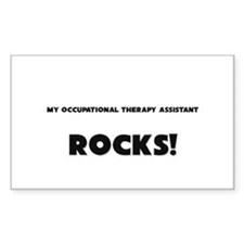 MY Occupational Therapy Assistant ROCKS! Decal