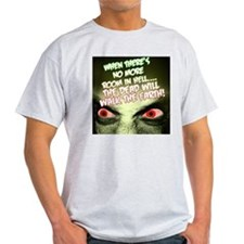 Light Zombie/ Horror Movie T-Shirt