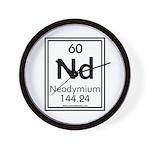 Neodymium Wall Clock
