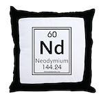Neodymium Throw Pillow
