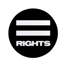 """EQUAL RIGHTS - 3.5"""" Button"""