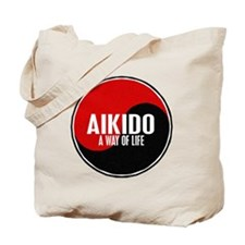 AIKIDO Way Of Life Yin Yang Tote Bag