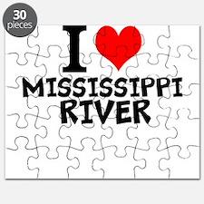 I Love Mississippi River Puzzle