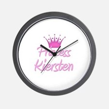 Princess Kiersten Wall Clock