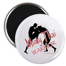 Muay Thai Warrior Magnet