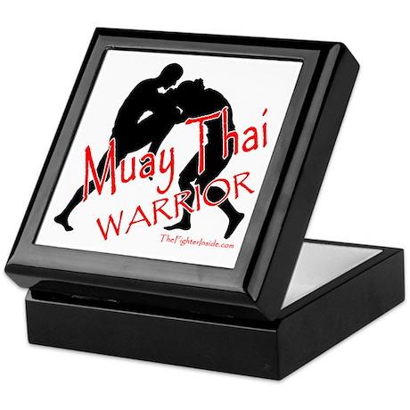 Muay Thai Warrior Keepsake Box