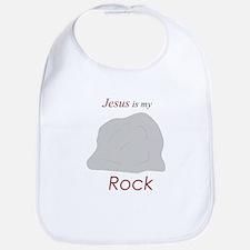 Jesus is my Rock Bib