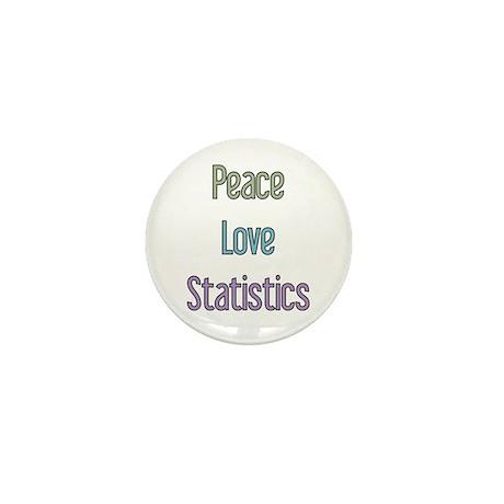 Statistician Gift Mini Button