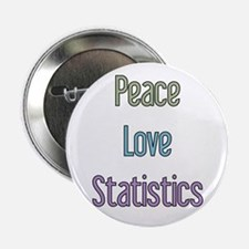 """Statistician Gift 2.25"""" Button"""