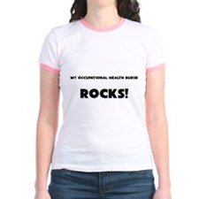 MY Occupational Health Nurse ROCKS! Jr. Ringer T-S
