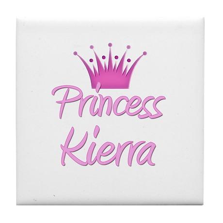 Princess Kierra Tile Coaster