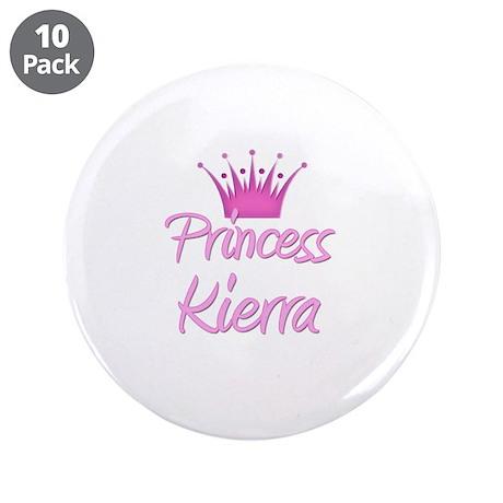 "Princess Kierra 3.5"" Button (10 pack)"