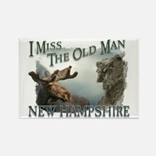 I Miss The Old Man w/Moose Rectangle Magnet