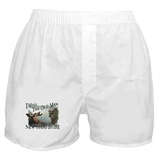 I Miss The Old Man w/Moose Boxer Shorts